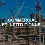 Coffrage de béton commercial et institutionnel