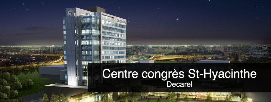 centre congres st hyacinthe - Coffrages Synergy