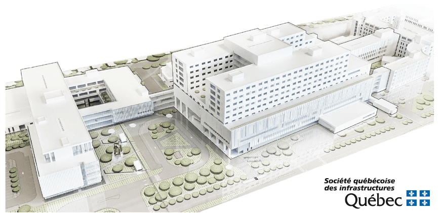 New project: Complexe Hospitalier de l'Enfant-Jésus