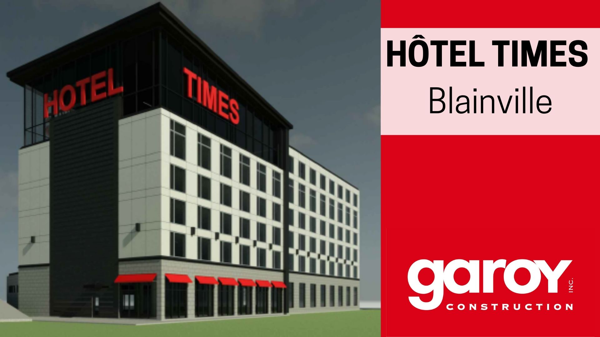 New project: TIMES Hotel