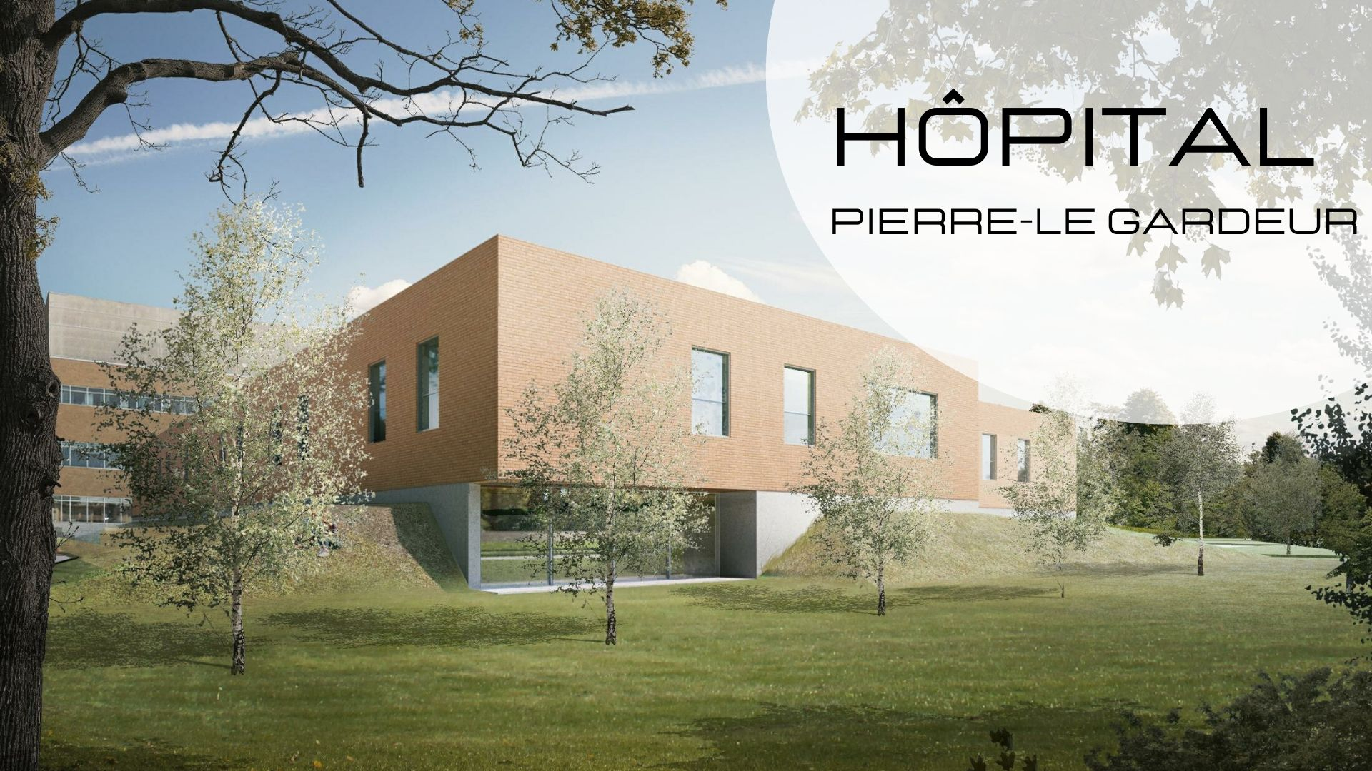 New project: Pierre-Le Gardeur Hospital