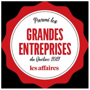 SYNERGY parmi les plus grandes entreprises du Québec
